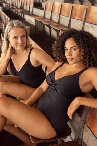 Suavemente idea periódico  Buy Speedo® Sculpture Black Watergem Adjustable Swimsuit from the Next UK  online shop