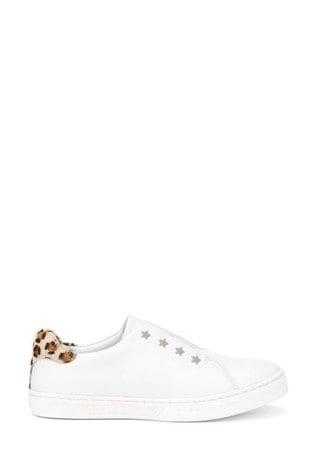 Buy Mintie by Mint Velvet White Leopard