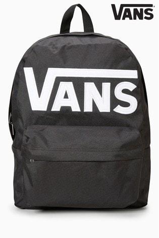 c1cd4cff570e25 Buy Vans Black Old Skool Backpack from the Next UK online shop