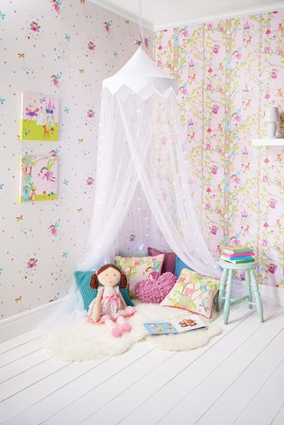 Buy Arthouse Woodland Fairies Wallpaper From The Next Uk Online Shop