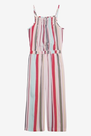 7563a606a40 Buy Tommy Hilfiger Girls Candy Stripe Jumpsuit from Next Ireland