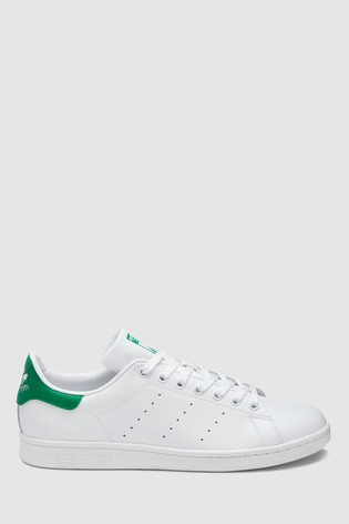 b3082ee766e58 Buy adidas Originals White/Green Stan Smith from the Next UK online shop