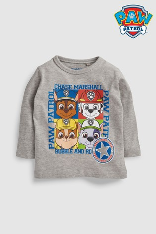 a0ba0bac Buy PAW Patrol Long Sleeve T-Shirt (6mths-5yrs) from the Next UK ...