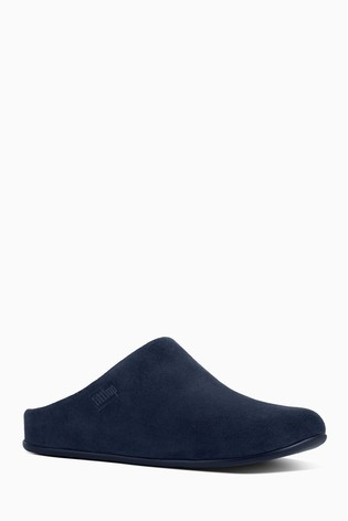 beda23621 Buy FitFlop™ Blue Shearling Chrissie Slipper Mule from the Next UK ...
