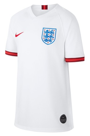 on sale f2d47 fd92b Nike Girls White England 2019/2020 Home Jersey