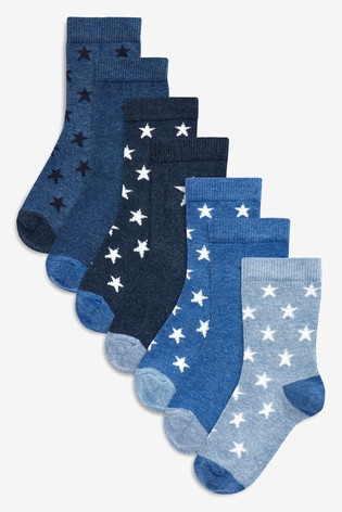 0b457cbaf9df0 Buy Star Socks Seven Pack (Younger) from the Next UK online shop