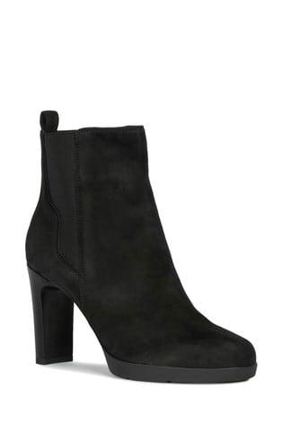 selección premium c86d5 c20ea Geox Women's Annya Black Boot