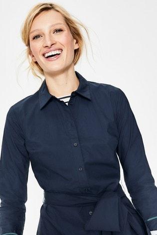 dadd40de14 Buy Boden Blue Modern Shirt Dress from Next Turkey