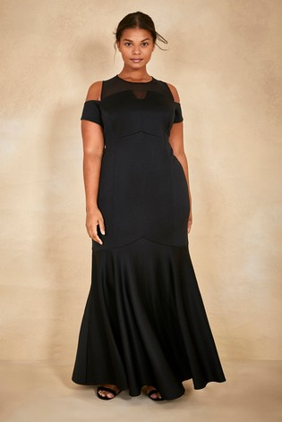a64700ec39eb Buy Coast Black Curve Lorna Fishtail Maxi Dress from Next Ireland