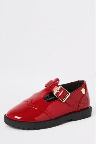 971caf5d8 Kupte si Červené boty na platformě River Island Mary Jane na Next ...