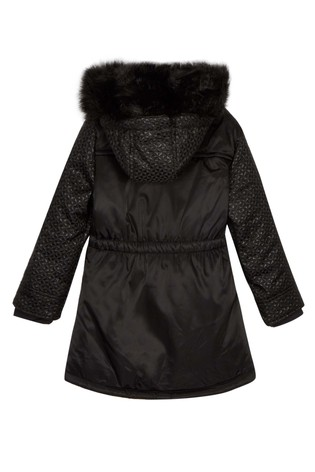1301188ad Buy baker by Ted Baker Jacquard Panel Parka from the Next UK online shop
