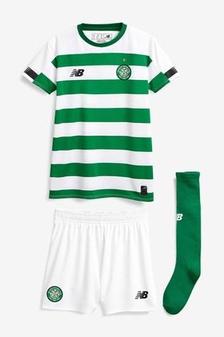 the latest fd5c1 defca New Balance Celtic FC 19/20 Infant Mini Kit