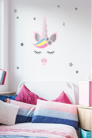 Make Your Own Unicorn Wall Stickers