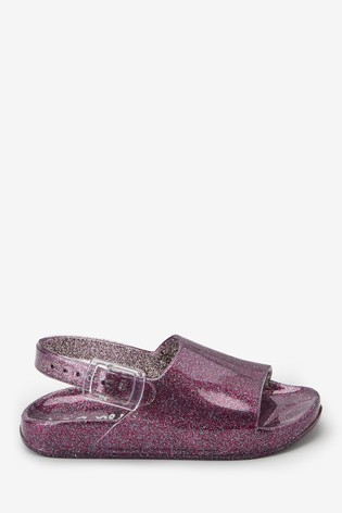 6d14d9572fc5 Buy Glitter Jelly Sliders (Younger) from the Next UK online shop