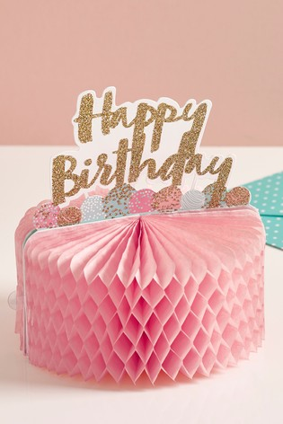 Buy 3D Birthday Card From The Next UK Online Shop