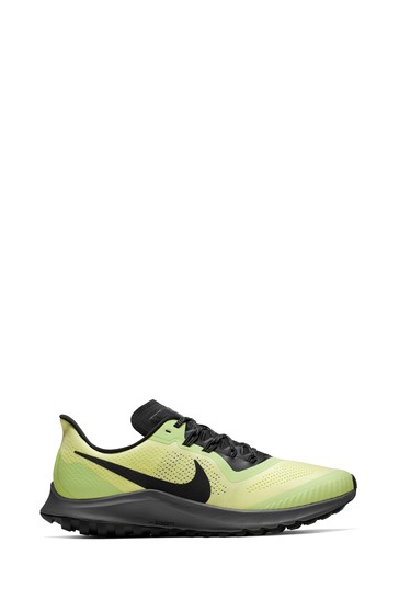 new products 018c0 d0bcb Nike Trail Green Air Zoom Pegasus 36 Trainers