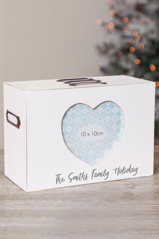 Buy Personalised Heart Photo Box Frame by Dibor from the Next UK ...