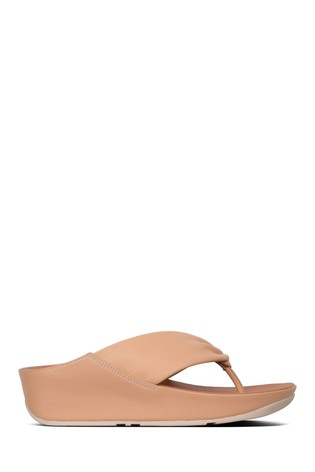 1c63f0101 Buy FitFlop™ Pink Ruche Twist Grace Toe Post from Next Qatar