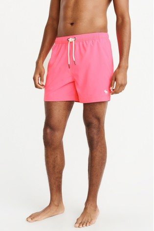 2d60a3f0cf Buy Abercrombie & Fitch Pink Swim Short from the Next UK online shop