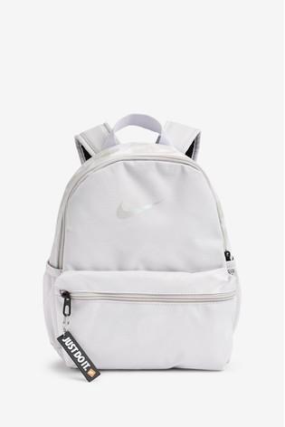 cost charm discount sale catch Nike Kids Grey Brasilia JDI Mini Backpack
