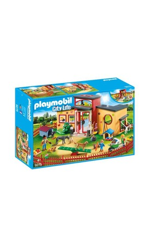 Playmobil® 9275 City Life Tiny Paws Pet Hotel With Fence
