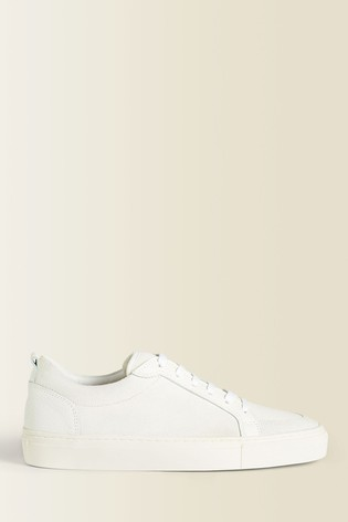 Jigsaw Lina Leather Suede Mix Trainers