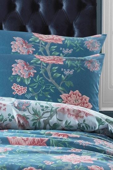 Laura Ashley Tapestry Fl Duvet, Laura Ashley Bluebirds Bedding
