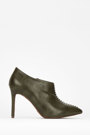 sale online the latest finest selection Wallis Green Prince Whipstitch Shoe Boots