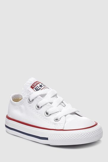 6c254186e Buy Converse Infant Little Kids Chuck Taylor All Star Lo from Next ...