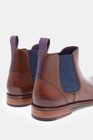 dc5c8b3dffb135 Buy Ted Baker Brown Camroon 4 Chelsea Boot from the Next UK online shop