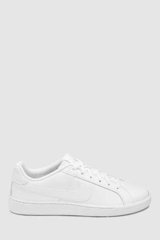 Nike Court Royale Trainers In White And