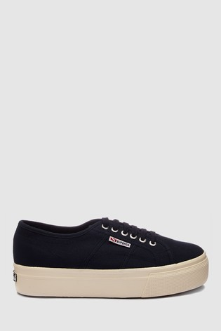72ab117f7 Buy Superga® Navy Canvas 2790 Flatform from Next Slovakia