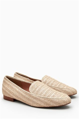 26def3e8b86 Buy Raffia Loafers from Next Ireland