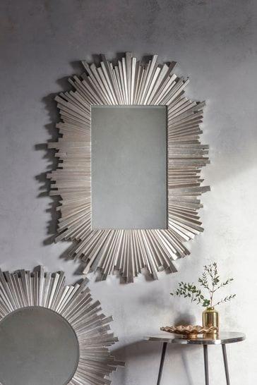 Buy Herzfeld Rectangle Art Deco Mirror By Gallery Direct From The Next Uk Online Shop