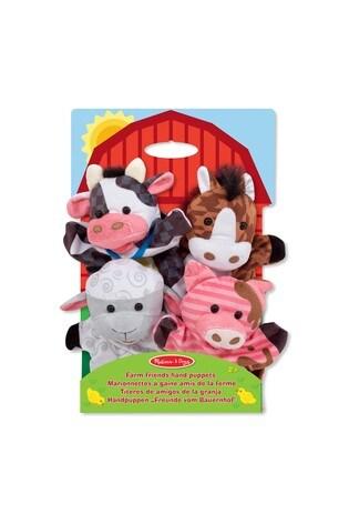Melissa & Doug Farm Hands Animal Puppets