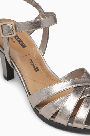 ad62502ecd7d2 Buy Clarks Metallic Adriel Wavy Sandal from Next Poland