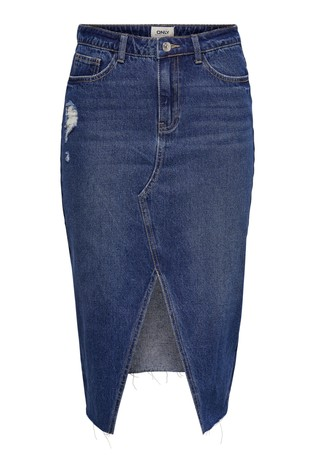 3f8afb96f Buy Only Slit Long Denim Skirt from the Next UK online shop