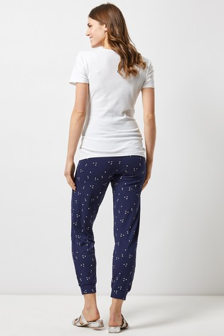 6d369a5271537 Buy Dorothy Perkins Maternity Floral Fold Over Bump Jogger from Next ...
