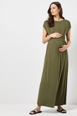 0e70b78be17 Buy Dorothy Perkins Maternity Shirred Jersey Maxi Dress from Next Malta