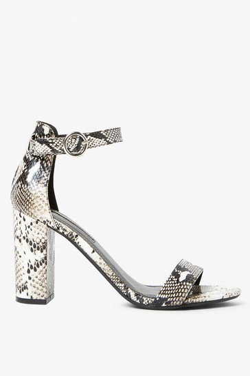 order online sneakers for cheap detailing Dorothy Perkins Snake Block Heels