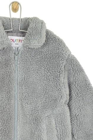 7521dc063 Buy Outfit Kids Toddler Girls Teddy Fleece Coat from Next Ireland