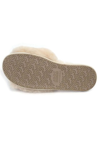 405f5a1b4b61 Buy Just Sheepskin Sheepskin Sliders from Next Malaysia