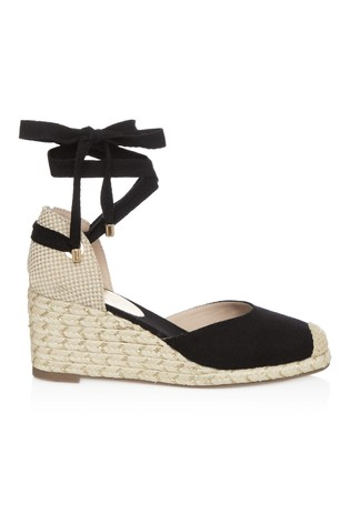 bcb5cf3e5ff Lipsy Tie Up Espadrille Wedges