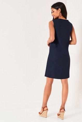 Buy Lipsy Sleeveless Linen Shift Dress From The Next Uk Online Shop