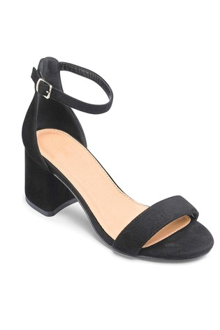 c84b38e2065 Simply Be Extra Wide Fit Block Heel Sandals