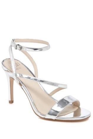 Buy Faith Metallic Heeled Sandals from Next Slovakia c27946b2270