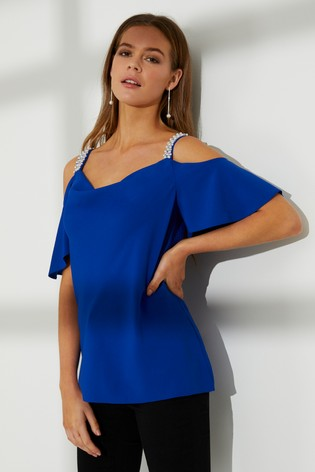 cb306e00917b83 Buy Dorothy Perkins Cold Shoulder Top from Next Malta