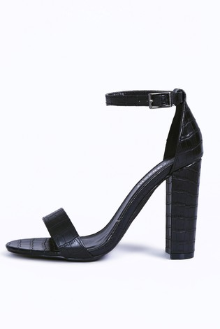 d535d5e5a78 Buy Glamorous Barely-There Block Heel from Next Malta