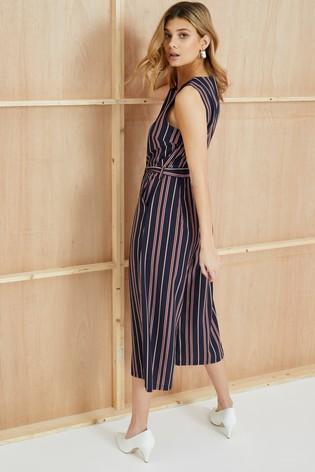 c05123f49ee6 Buy Mela London Nautical Stripe Culotte Jumpsuit from Next Qatar