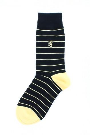 7fb8de7673d Buy Pringle Mens - Pack of 3 Stripe Bamboo Socks from Next Netherlands